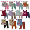 New Ashley's Baby Girls Floral Shirt legging Outfits Size 3 6 9 12 18 24 months