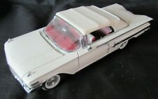 Boxed 1960 CHEVROLET Impala Conv Ltd Ed DANBURY FRANKLIN MINT 1/24 Diecast Model