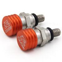 Orange M4 0.7MM Fork Air Bleeder Pressure Relief Valve For KTM KTM EXC SX SXF