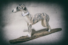 Whippet - One of a kind, needle felted, animal, sculpture - made to order