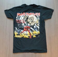 Vintage 2011 Iron Maiden the number of beast rock tour tshirts S