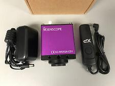 Scienscope CC-WSXGA-CD1 VGA Color Camera Real Time 1680x1050 2MP Image Capture
