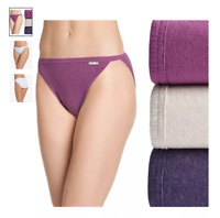 Details about  /03 Pack JOCKEY Women/'s Panties Bikini Style 1410 Assorted Light Dark Color