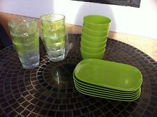 Picnic Plate, Cup And Glass