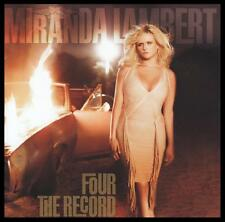 Miranda Lambert Four The Record 14 Track Country Pop CD Album