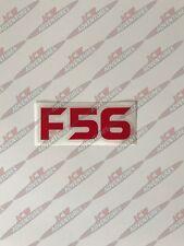 BMW Mini 3rd generación F56 model designation Rojo Pegatina de vinilo por JCW Aventuras