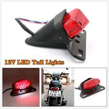 12V LED Motorcycle Refit Turn Signal Fender Edge Brake License Plate Tail Light