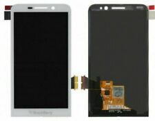 Touch Screen Digitizer LCD Assembly with Frame for BlackBerry Z30 – White