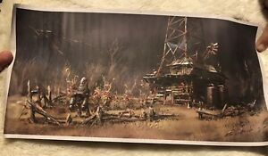 Fallout 4 Art Print Loot Crate Exclusive Brand NEW Ilya Nazarov Poster Feb 2018