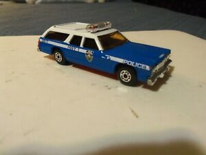 Vintage Matchbox 'SpeedKings' 1/43 scale, DODGE MONACO Police Station Wagon. .