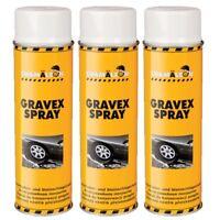 UBS 3 x 500ml Spray Weiß Anti Gravex Schutz Unterbodenschutz Schicht Chamäleon
