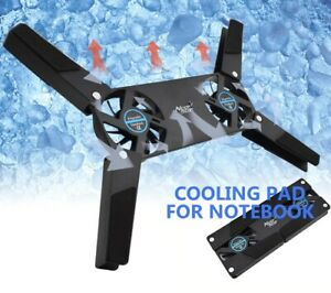 Rotatable Laptop Cooler Cooling Pad Folding Cooler  2 Cooling Fan Free Shipping
