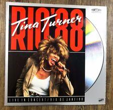 Tina Turner Rio 88 - Laserdisc Live in Concert NTSC UK