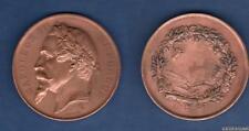 Médaille - Napoléon III Empereur par Oudiné Agriculture Cuivre 60 Grammes