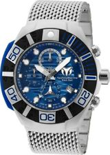 Technomarine Reef Black Chronograph Quartz Blue Dial Men's Watch TM-519002