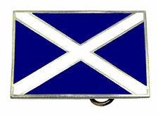 Scottish Flag Of St Andrew Belt Buckle Saltire Cross Scotland Authentic Product