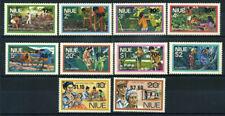 Niue 1977 Mi. 178-187 Postfrisch 100% Aufdruck Wirtschaft