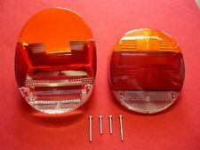 FOR VW 1303 Beetle 1973 Rear Light Lens Amber Red 113945223A