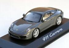 Minichamps Porsche 911 Carrera Coupé Typ 991, Bj. 2011-2015, 1:43, graumetallic