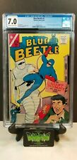 BLUE BEETLE #1 CGC 7.0 1ST SILVER AGE APPEARANCE OF BLUE BEETLE FN/VF+ CHARLTON