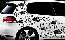 75x spider araignée des autocollants étoiles star spiderman étoile tribal tatouage xxx