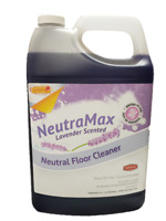 Neutramax Lavender Scented Concentrated Neutral Floor Cleaner, Gal (Case of 4)