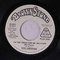 VICKI ANDERSON: I'm Too Tough For Mr. Big Stuff 45 (dj) Funk