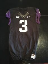 Game Worn Used Nike TCU Horned Frogs Football Jersey #3 Size 42