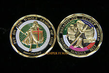 """""""PUT ON THE WHOLE ARMOR OF GOD"""" CHALLENGE COIN EPHESIANS 6:13-17 USA MILITARY!!!"""