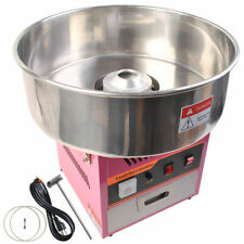 6933New Electric Cotton Candy Machine Pink Floss Carnival Commercial Maker Party