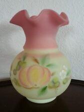 Fenton Burmese Limited Edition Vase George Fenton