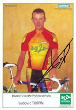 CYCLISME carte cycliste LUDOVIC TURPIN  équipe AG2R  signée