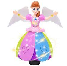 Electric Dancing Princess Colorful LED Lights Wonderful Music Elsa Doll Kids Toy