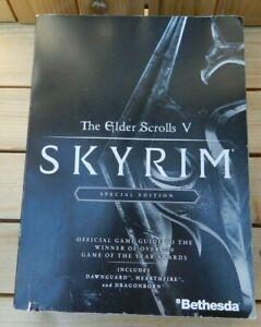 Rare Bethesda The Elder Scrolls V Skyrim Special Edition Prima Guide Paperback