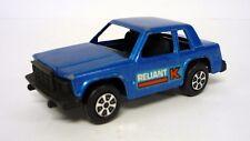 TOOTSIETOY PLYMOUTH RELIANT K Vintage Die-Cast Metallic Blue 1977