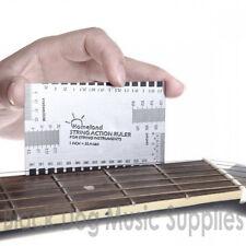 Guitar Fretboard Fingerboard  string action Gauge