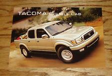 Original 2001 Toyota Tacoma Double Cab Postcard 01