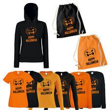 Shirt-Panda Damen Kostüm Happy Halloween Shirt mit Druck