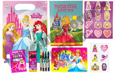 Pre Filled Girls Disney Princess Party Bag - Childrens Parties Activity Gift Bag