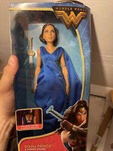 DC Comics Wonder Woman Diana Prince & Hidden Sword Action Figure Doll New