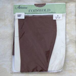 Vintage Aristoc Cotswold Stockings - Honey Mink sheer 60 Denier seamfree stretch