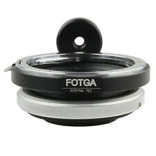 Tilt Adapter for Canon EOS Mount Lens to Micro four thirds M4/3 Camera E-P3 G2
