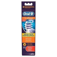 Braun Oral B Cabezales Cepillo de Recambio Cepillo de dientes eléctrico TriZone NUEVO