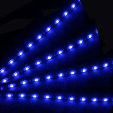 8x 30cm 15 SMD LED Auto-Van Neon Grill-Streifen-Licht-Lampe 12V Wasserdicht Blau