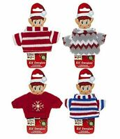 Naughty Elves Behavin' Badly Accessory Christmas Elf Knitted Jumper Top Sweater