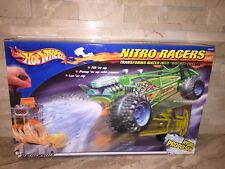 HOT WHEELS NITRO RACERS YELLOW DUNE BUGGY HYDRO PULPSION.