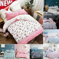 Pure Cotton Bedding Set Duvet Cover With Pillowcase Quilt Cover Queen/King Size