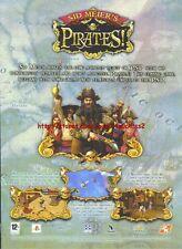 "Sid Meiers Pirates ""PSP"" 2007 Magazine Advert #4897"