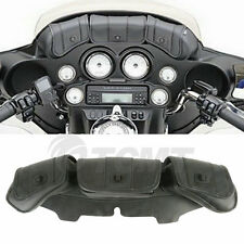 Windshield Saddle 3 Pouch Pocket Fairing Bag For Harley Electra Glide 1996-2013