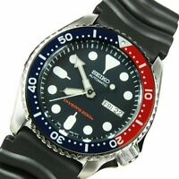 Seiko Automatic DIVERS SKX009K1 Men's Watch + Worldwide Warranty ES*3